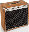Musical Instruments:Amplifiers, PA, & Effects, Circa 1977 Overdrive Special Dumble OD-50WC Brown Suede GuitarAmplifier, Serial # 0077. ...