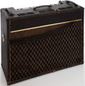 Musical Instruments:Amplifiers, PA, & Effects, 1966 Vox Viscount Black Guitar Amplifier, Serial # 1054066....
