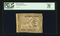 Colonial Notes:Continental Congress Issues, Continental Currency February 17, 1776 $3 PCGS Apparent About New50.. ...