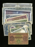 World Currency: , Various Countries.. . ... (Total: 15 notes)