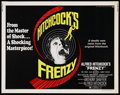 "Movie Posters:Hitchcock, Frenzy (Universal, 1972). Half Sheet (22"" X 28""). Hitchcock. ..."