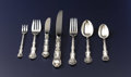 Silver & Vertu:Flatware, An American Silver Flatware Service. Gorham Manufacturing Co., Providence, Rhode Island. Designed circa 1897. Silver and sta... (Total: 92 Items)