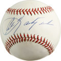 Autographs:Baseballs, Carl Yastrzemski Single Signed Baseball. Carl Yastrzemski playedhis entire major league career with the Boston Red Sox. Al...