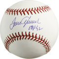 Autographs:Baseballs, Tom Seaver Single Signed Baseball. Considered the best player inNew York Mets history and a 3 time Cy Young Award winner, ...