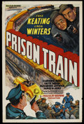 "Movie Posters:Crime, Prison Train (Equity Pictures, 1938). One Sheet (27"" X 41""). Crime...."