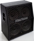 Musical Instruments:Amplifiers, PA, & Effects, 1980s Mesa Boogie 4 X 12 Black Speaker Cabinet....