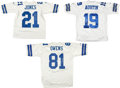 Football Collectibles:Uniforms, Owens, Austin and Julius Jones Signed Cowboys Jersey - Lot of 3. ...
