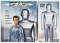 Memorabilia:Movie-Related, Day the Earth Stood Still Movie Action Figure Group (AmokTime, 2008).... (Total: 2 Items)