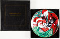 Memorabilia:Superhero, Batman Christmas Holiday Alex Ross Collector's Plate #746/1100 (DCDirect, 2005)....