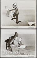 """Movie Posters:Animation, No Sail (RKO, 1945). Photos (2) (8"""" X 10""""). Animation.. ... (Total: 2 Items)"""