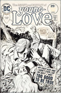Original Comic Art:Covers, Jerry Grandenetti and Creig Flessel Young Love #116 CoverOriginal Art (DC, 1975)....