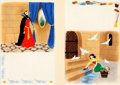 Animation Art:Production Drawing, Snow White Children's Book Illustration Original Art Group(Disney/Golden Press, 1952)....