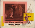"Movie Posters:Romance, Funny Face (Paramount, 1957). Half Sheet (22"" X 28""). Romance.. ..."