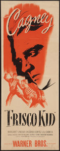 "Movie Posters:Adventure, Frisco Kid (Warner Brothers, R-1942). Insert (14"" X 36"").Adventure.. ..."