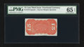 Fractional Currency:Third Issue, Fr. 1273SP 15¢ Third Issue Narrow Margin Back PMG Gem Uncirculated 65 EPQ.. ...