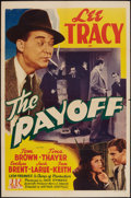 "Movie Posters:Mystery, The Payoff (PRC, 1942). One Sheet (27"" X 41""). Mystery.. ..."