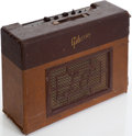 Musical Instruments:Amplifiers, PA, & Effects, 1953 Gibson Les Paul GA-40 Two-Tone Brown Guitar Amplifier....