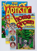 Bronze Age (1970-1979):Alternative/Underground, Underground Comix R. Crumb Solo Title Group (Various Publishers, 1969-73).... (Total: 12 Comic Books)