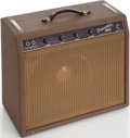 Musical Instruments:Amplifiers, PA, & Effects, 1963 Fender Princeton Brown Guitar Amplifier, Serial # P06724....