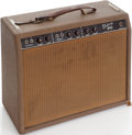 Musical Instruments:Amplifiers, PA, & Effects, 1963 Fender Deluxe Guitar Amplifier, Serial # D03426....