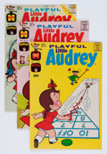 Bronze Age (1970-1979):Humor, Playful Little Audrey File Copy Group (Harvey, 1971-76) Condition:Average NM-.... (Total: 72 Comic Books)