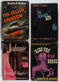 Books:Mystery & Detective Fiction, Dorothy B. Hughes. Group of Four First Edition Books. Duell, Sloanand Pearce, 1942-1946. Very good.... (Total: 4 Items)