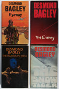 Books:Mystery & Detective Fiction, Desmond Bagley. Group of Four First Edition Books. Collins,1973-1978. Very good.... (Total: 4 Items)