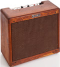 Musical Instruments:Amplifiers, PA, & Effects, 1957 Fender Princeton Natural Guitar Amplifier, Serial # P01676....