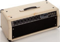Musical Instruments:Amplifiers, PA, & Effects, Early 1980s Mesa Boogie Mk II White Guitar Amplifier, Serial #15849....