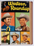 Golden Age (1938-1955):Miscellaneous, Dell Giant Comics: Western Roundup #1-24 Bound Volumes (Dell, 1953-58).... (Total: 6 Items)