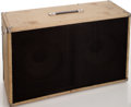 Musical Instruments:Amplifiers, PA, & Effects, Circa 1962 Fender Bassman Blonde Speaker Cabinet....