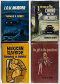 Books:Mystery & Detective Fiction, Thomas B. Dewey. Group of Four First British Edition Books.Boardman, 1958-1965. Very good.... (Total: 4 Items)