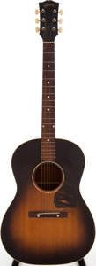 Musical Instruments:Acoustic Guitars, Circa 1951 Gibson LG-1 Sunburst Acoustic Guitar, Serial # 7310....