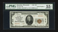 National Bank Notes:Wisconsin, Kenosha, WI - $20 1929 Ty. 2 The First NB Ch. # 212. ...