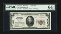 National Bank Notes:Arizona, Tucson, AZ - $20 1929 Ty. 2 The Consolidated NB Ch. # 4287. ...