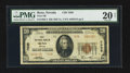 National Bank Notes:Nevada, Reno, NV - $20 1929 Ty. 2 First NB Ch. # 7038. ...