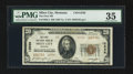 National Bank Notes:Montana, Miles City, MT - $20 1929 Ty. 2 The First NB Ch. # 12536. ...
