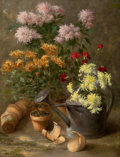 Fine Art - Painting, American:Other , ABBOTT FULLER GRAVES (American, 1859-1936). Floral StillLife, circa 1878-90. Oil on canvas. 25-3/4 x 19-3/4 inches(65....