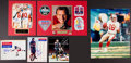 Miscellaneous Collectibles:General, Football and Hockey Legends Signed Photographs Lot of 6....