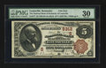 National Bank Notes:Kentucky, Louisville, KY - $5 1882 Brown Back Fr. 477 The NB of Kentucky Ch.# (S)5312. ...