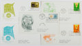 Books:Non-fiction, [First Day Covers]. Group of Five Related to Fighting Disease. 1962-1970. Fine....
