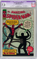 Silver Age (1956-1969):Superhero, The Amazing Spider-Man #3 (Marvel, 1963) CGC Apparent FN/VF 7.0 Slight (A) Off-white to white pages....