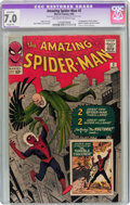 Silver Age (1956-1969):Superhero, The Amazing Spider-Man #2 (Marvel, 1963) CGC Apparent FN/VF 7.0 Slight (A) Off-white to white pages....