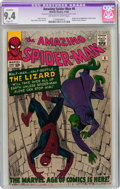 Silver Age (1956-1969):Superhero, The Amazing Spider-Man #6 (Marvel, 1963) CGC Apparent NM 9.4 Slight (P) Off-white to white pages....