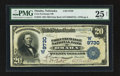 National Bank Notes:Nebraska, Omaha, NE - $20 1902 Date Back Fr. 645 Corn Exchange NB Ch. # (W)9730. ...