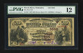National Bank Notes:Nebraska, Wood River, NE - $20 1882 Brown Back Fr. 497 The First NB Ch. # (W)3939. ...