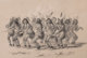 GEORGE CATLIN (American, 1796-1872) The Bear Dance, Plate 18 (from the North American Indian Collection) Lithograp