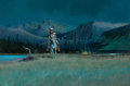 Paintings, WAYNE COOPER (American, b. 1942). Night Watch. Oil on board. 20 x 30 inches (50.8 x 76.2 cm). Signed lower right: Wayn...