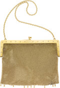 Estate Jewelry:Purses, Diamond, Gold Mesh Purse, Carter, Gough & Co. ...
