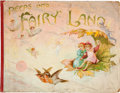 Books:Children's Books, F. E. Weatherly. Peeps into Fairyland, A Panorama PictureBook of Fairy Stories. London: Nister and Dutton, [189...